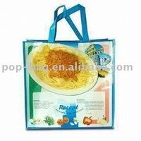 2013 new design pp woven shopping bag