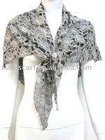 2011 Fashion Triangle Lace Scarf