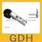 one way zinc alloy cover glass hinge & glass door cabinet hinge