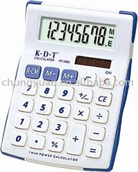 8 digits solar calculator KT-108A