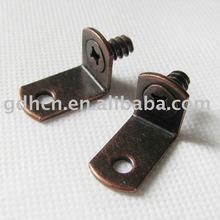 "0.236 Pin 7/8"" Arm Screw-in shelf support,shelf bracket"