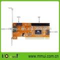 Pci sata/esata/ide placa controladora raid com alta& suporte de perfil baixo