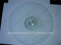 Top Quality Lazy Susan, unbreakable glass turntable, cake lazy susan