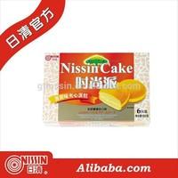 Nissin Custard Banana Cream Sandwich Cakes