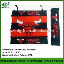 PET foam sport folding stadium seat cushion