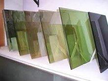 Hard Coated Dark Green Reflective Glass