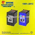 Re-manufactured ink cartridge for HP 56/57(C6656/6657)