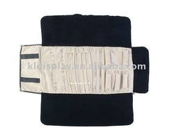 2012 summer portable jewelery display carrying roll bag for lady 2011