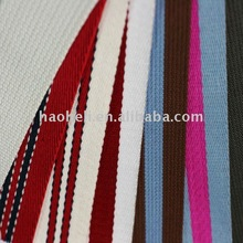 38mm wide multi colored polyester webbing band for luggage