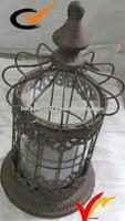 Vintage metal candle candelabra