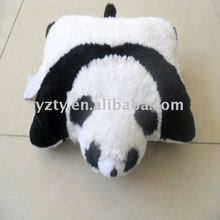"""11""""/14""""cute ,cheap plush mini panda pillow"""