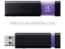Plastic USB flash drive pendrive 64GB branded