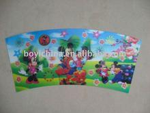3D lenticular christmas card/3d bookmark lenticular cards/3d lenticular name cards/lenticular 3d post cards