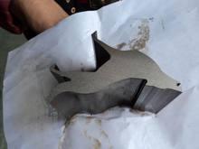 CNC Water jet cutting machine for aluminum plate