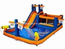 inflatable water slide, inflatable slide