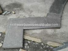 black granite pool liner natural stone pool liner