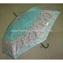 cheap rain umbrella, polyester printing pattern umbrella