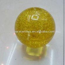 beautiful flashing bounce ball, glitter light bounce ball