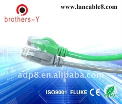 shield/unshield 8p8c rj45 patch cable