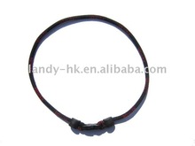 """Single Rope Ionic Basketball Sports Necklace Black 16"""" for Boy"""