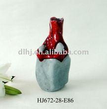 Volcano Murano Glass Vases