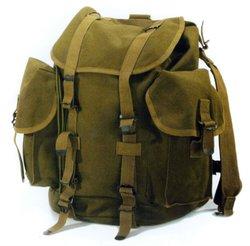 canvas bag khaki army bag canvas backpack