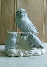 Black Eagle Stone Sculpture