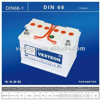 Storage Car Battery DIN60