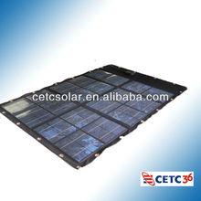 50W Fabric Fold Solar Panels (Fabric Material)