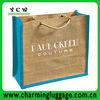 Customized large jute shopping bag/shopping jute bag