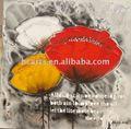 moderna abstrata lona flor decorativa de parede arte da pintura a óleo