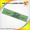 Taiwan OEM compatible ddr2 1 gb 64 * 8 bits chips de escritorio memoria ram
