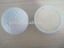 2 layers logo range golf ball