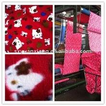 2011 HOT!!! 100% polyester printed polar fleece fabric