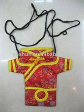 China brocade mobile phone bag