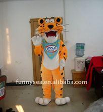 2012 leopard explorer Fur Mascot
