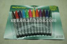 12 colors Tattoo Skin Marker Piercing Marking Scribe Pen