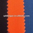 Vat dyed cotton khaki workwear fabric