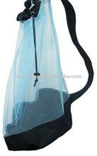 promotional nylon drawstring mesh laundry bag