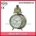 Pica-pau 9.5x14.5cm alta qualidade do metal do sino do relógio antiquado relógios de alarme