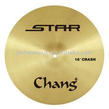 "Chang Star series 13"" brass hi hat cymbal"