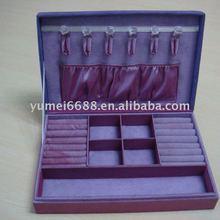 2012 New-design purple jewelry case