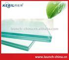 plane tempered/toughened glass brick