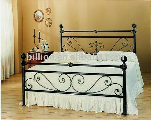 personalizado de hierro forjado diseños de camas