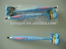 customized silicone pen with magnet