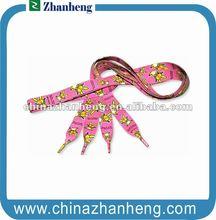 2012 fashion Sublimation shoelace