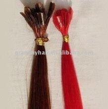 Keratin Nail Tip Pre Bonded Hair Extensions - 100% Remy Human Hair