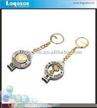 2013 fashion metal nail clipper keyring