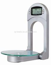 digital kitchen scale XY-8003 Foldable kitchen scale with glass patform