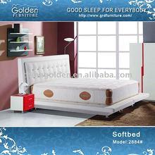 headboard of hotel bed